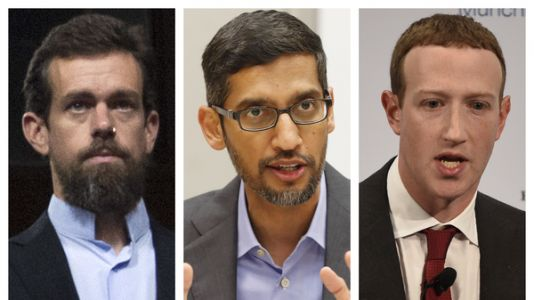 Facebook, Twitter, Google CEOs Testify To Senate: What To Watch For