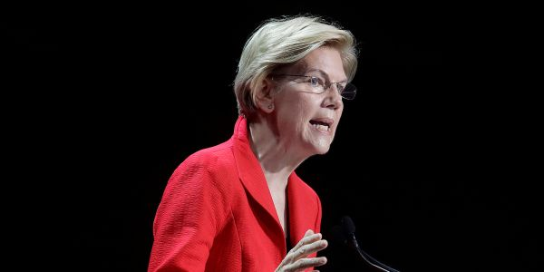 'I will be watching carefully': Elizabeth Warren just put the Treasury Department and Federal Reserve on notice about the $500 billion corporate bailout fund