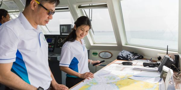 Here's how the first female CEO of the Maritime and Port Authority of Singapore is working to disrupt the industry