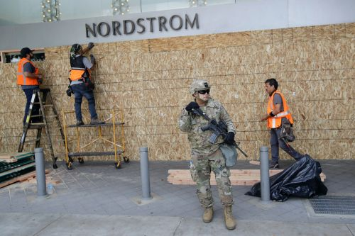 Nordstrom shut all stores after its flagship location was looted amid protests