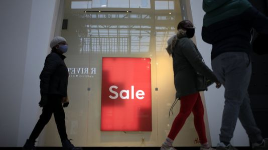 Retail Spending Dips For 3rd Straight Month As Infections Surge