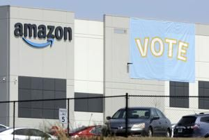 Counting strongly favors Amazon in warehouse union vote
