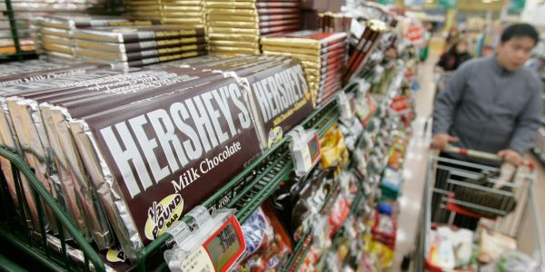Hershey drove a record spike in cocoa prices after reportedly sourcing beans from the futures market instead of physical sellers
