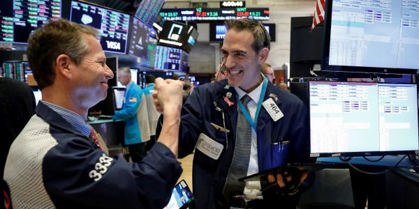 Dow soars 603 points amid risk-on rally as reopening stocks surge