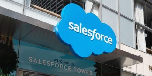 Salesforce posts record sales but full-year profit forecast disappoints