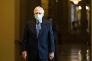 Pandemic relief talks inch ahead, but McConnell is resistant
