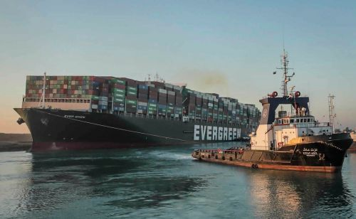 Companies that have containers on the Ever Given could have to help pay the up to $1 billion Egyptian authorities are demanding before the ship leaves the Suez Canal
