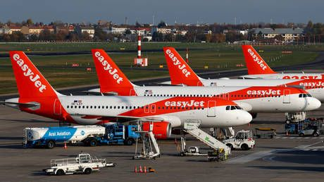 EasyJet grounds entire fleet as Covid-19 hammers global travel industry