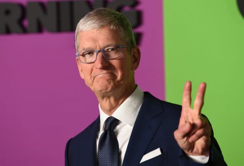 Parler - a social media app that was used to organize the attack on the US Capitol - needs to step up moderation to get back on the iPhone, Apple CEO Tim Cook says