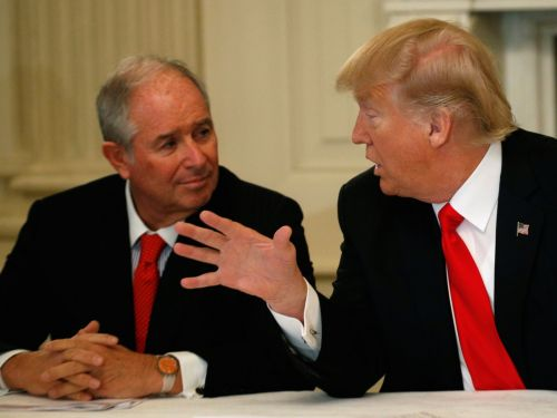 Blackstone CEO Stephen Schwarzman reveals new details about his role as an intermediator between Presidents Trump and Xi in the US-China trade war