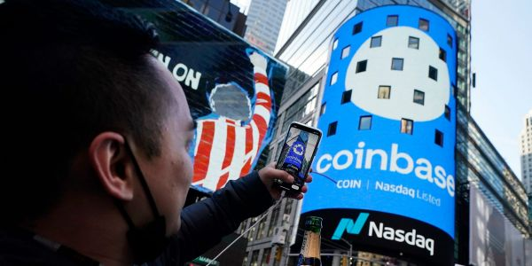 Coinbase could jump 11% this year as cryptocurrency trading volume accelerates, says Mizuho