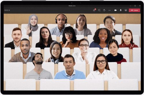 Microsoft makes Teams video meetings less tiring with its new Together mode