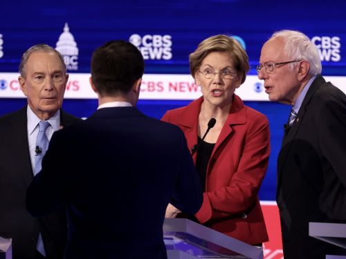 The top 6 moments from South Carolina's chaotic Democratic debate