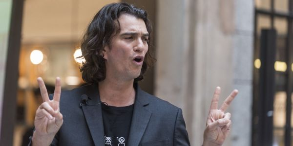 WeWork's value plunged more than 80% to below $5 billion last quarter, SoftBank says. Here's why that's a staggering drop