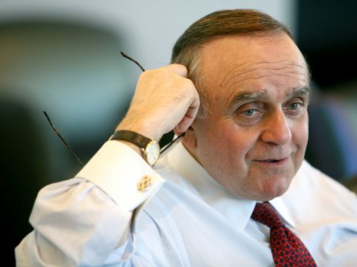 Billionaire Leon Cooperman says the coronavirus selloff is a 'healthy' correction for the market 'even though I've lost a ton of money'