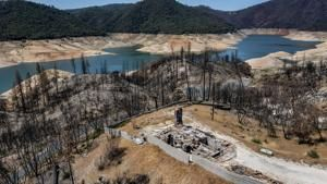 Correction: California-Drought-Reservoirs story