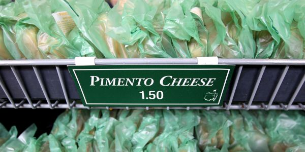Food and beer at the Masters is incredibly cheap