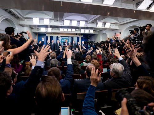 Trump waged a 4-year war against the press. Here's what 5 White House briefing room insiders want from the Biden era