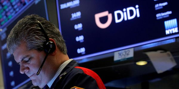 Didi surges on report it's weighing going private amid regulatory pressure