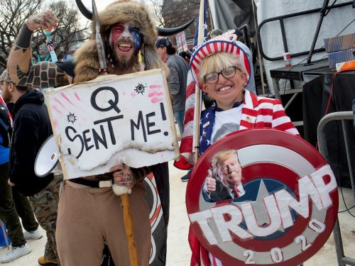 Angry response to Hawaii Republican Party's defence of QAnon supporters from ridicule and its claims they are motivated by a 'deep love for America'