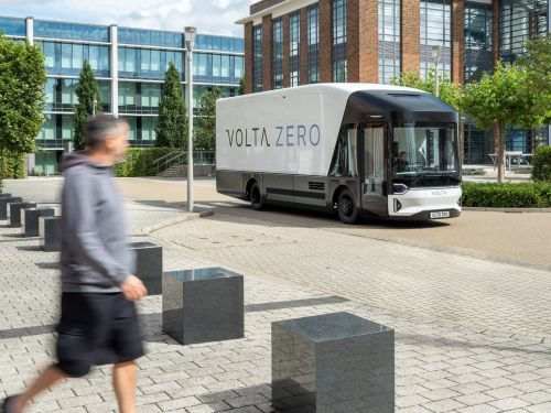 This fully electric delivery truck was built to be much safer to use in cities than the average large vehicle - see the Volta Zero