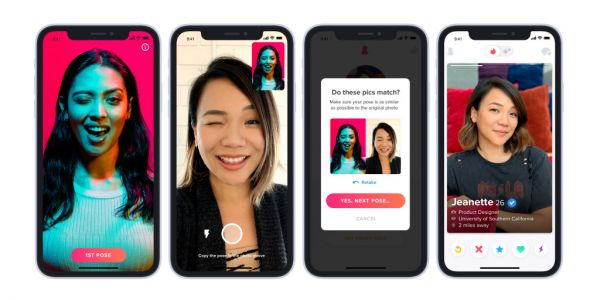 Tinder rolls out verification service to curb catfishing-blue checkmark included
