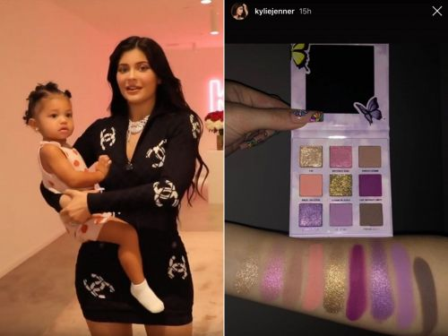 Kylie Jenner shared a sneak peek of her new makeup collection inspired by her daughter, Stormi