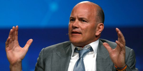 Billionaire Mike Novogratz says cryptocurrencies face a 'washout' after the Coinbase listing frenzy