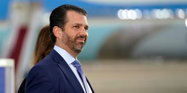 Donald Trump Jr. is pushing his father to go all-in on culture war issues ahead of a potential 2024 run, report says