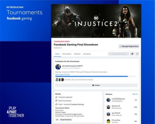 "Facebook Gaming launches ""Tournaments"" tool early to centralize community and competition"