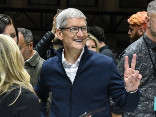 Apple CEO Tim Cook heads to Ireland to pick up an award for investing in the country