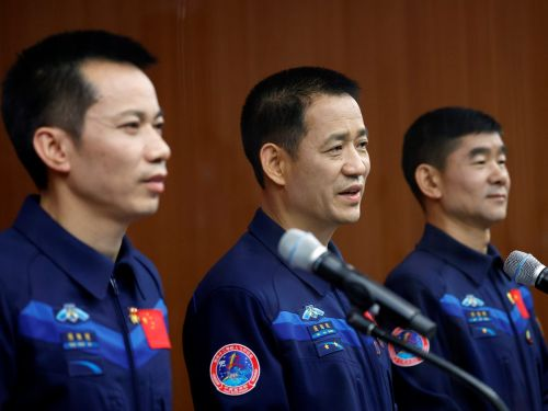 China is set to launch 3 taikonauts to its new space station on Wednesday night - the country's first human spaceflight in 5 years