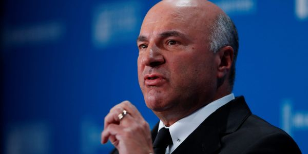 'Shark Tank' investor Kevin O'Leary says bitcoin is too volatile for his portfolio - but says he would own a crypto ETF