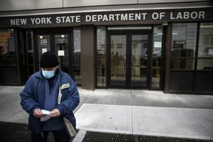 Record 16.8 million have sought US jobless aid since virus