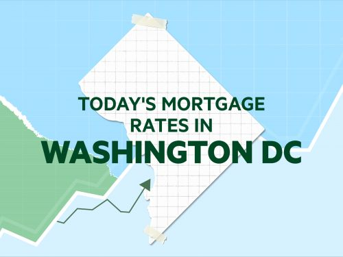 Today's mortgage and refinance rates in Washington DC