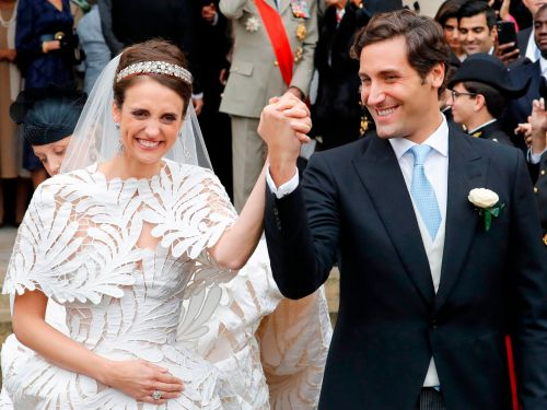 One of Napoleon's heirs just married an Austrian countess, who is descended from Napoleon's second wife. Check out the lavish reception in the medieval palace where the French emperor himself once lived