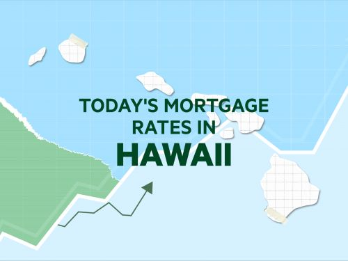 Today's mortgage and refinance rates in Hawaii