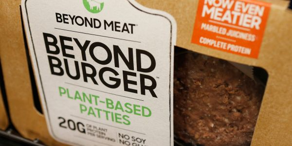 Beyond Meat slumps after the fake meat company reports a wider than expected loss for the 1st quarter