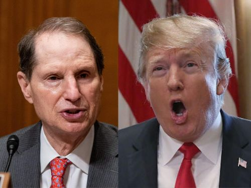 Sen. Ron Wyden accused Trump of 'working the refs' by pulling the renomination of an FCC commissioner who had questioned the president's executive order targeting social media companies