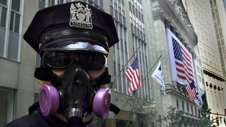 Wall Street stocks tumble after US becomes worst-hit nation by coronavirus infection