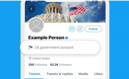 Twitter adds labels for government officials and state-controlled media