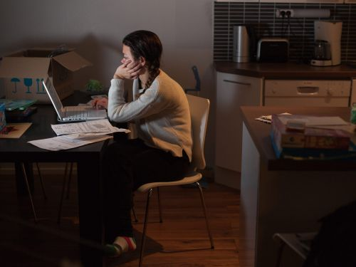 After a year of navigating COVID, American workers are among the most stressed-out in the world, a new poll shows