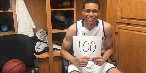 The brother of one of the NBA's top rookies dropped 100 points in a college basketball performance for the ages