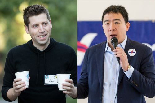 Andrew Yang and his loyal 'knights' of Silicon Valley