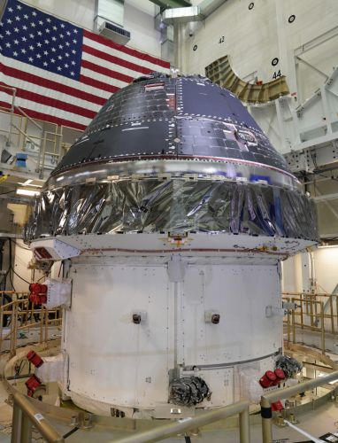 NASA's Orion crew capsule is officially complete and ready to prep for its first Moon mission