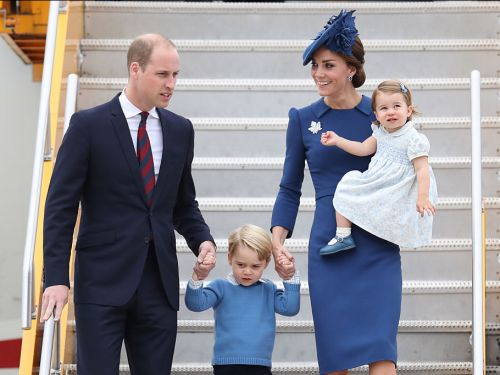 Kate Middleton and Prince William announce the birth of their third child - a baby boy