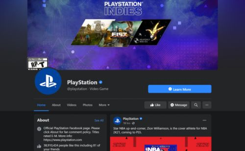 PlayStation pulls ads from Facebook and Instagram for boycott