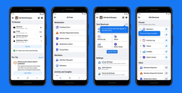 Facebook rolls out new tools for Group admins, including automated moderation aids