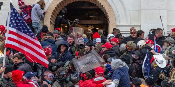 An attorney for an accused Capitol rioter claimed his client participated in the January 6 siege because he had 'Foxitus' and 'Foxmania' from watching Fox News for 6 months