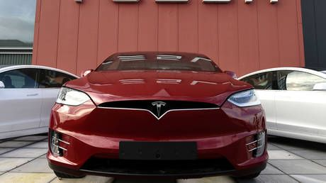 Tesla becomes 10th largest US company by market value after stock breaks all-time high